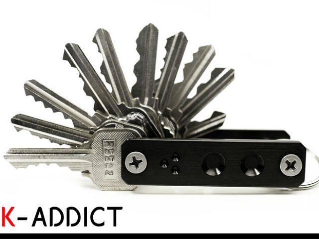 Get Your Keys Organized with the  K-Addict Key Organizer System