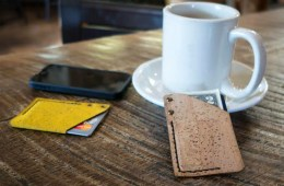 Monk Cork Wallet Created from Sustainable Resources