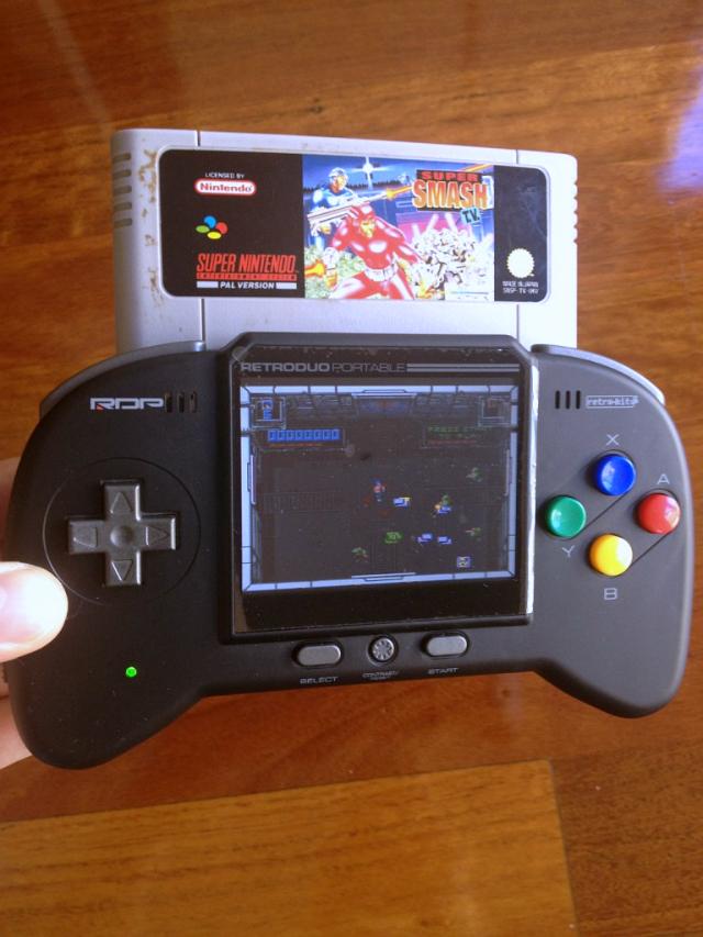 Retro Duo Portable NES & SNES