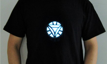 Feel Rich and Powerful with the Tony Stark Light Up LED Iron Man Shirt