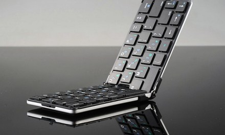 Ultra Thin Foldable Flyshark Bluetooth Keyboard is the Perfect Travel Companion