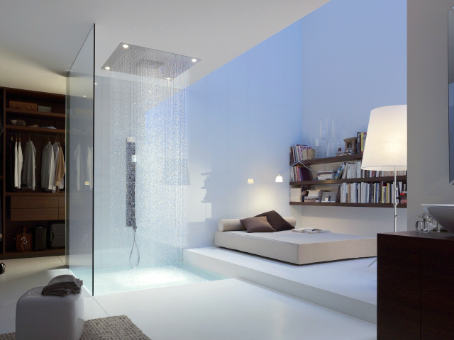 Get a Touch of Heaven with the Axor Starck Heaven Shower Head