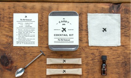 Carry-On Cocktail Kit – Craft 2 Old Fashioned Cocktails Mid-flight