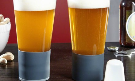 Self-Chilling Beer Glass Keeps Beer Cool Till the Last Drop