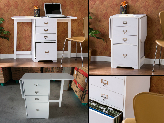 Fold-Out Organizer and Craft Desk – Organizer and Work Desk In One