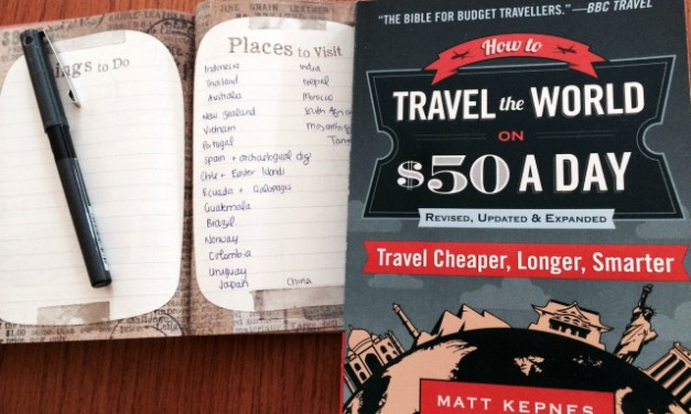 """Discover Traveling on a Shoestring Budget with """"How to Travel the World on $50 a Day"""""""