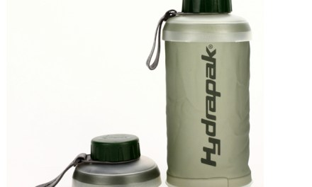 Keep Hydrated with the Hydrapak Stash Water Bottle