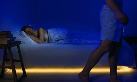 Motion Activated Bedlight Saves your Toes and Pets