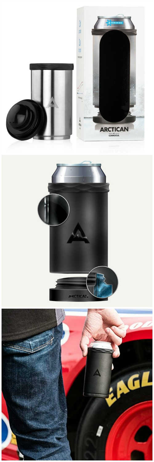 The Corkcicle Vinnebago Is A Wine Canteen That Can: Keep Drinks Cool Longer With The Corkcicle Arctican Can