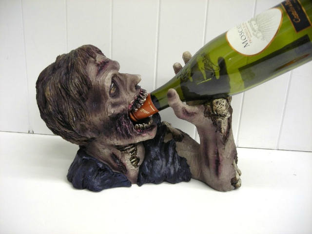 Elixir of the Undead Zombie Wine Bottle Holder
