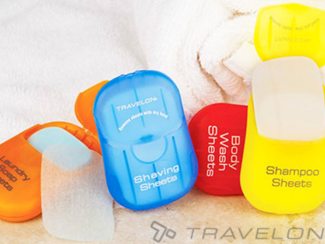Travelon Toiletry Sheets Make Packing for Flights Easier