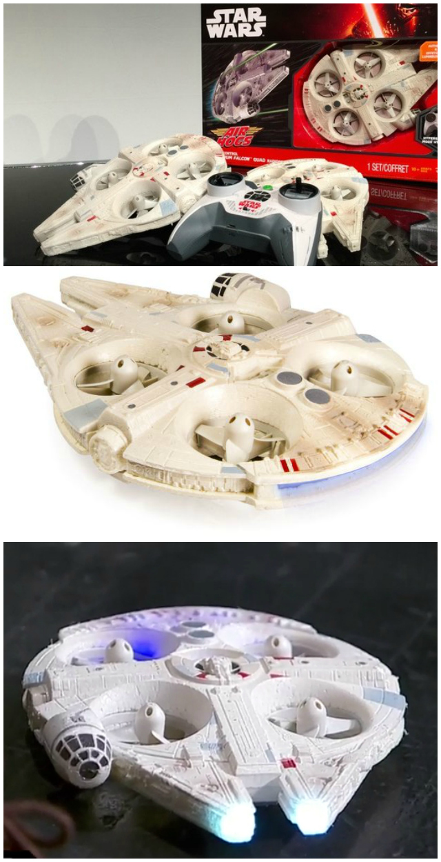Ultimate Millennium Falcon Quad