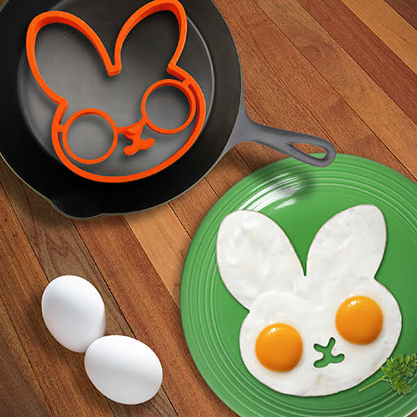 Lovely Egg Shaper Silicone Ring Mould