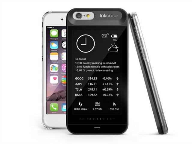 Oaxis InkCase i6 Adds A Second Screen To Your iPhone