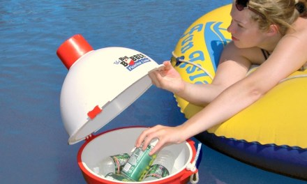 Big Bobber Won't Catch Fish But Will Keep Drinks Cool