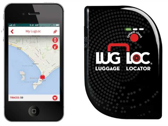 LugLoc Tracks your Luggage Anywhere Worldwide