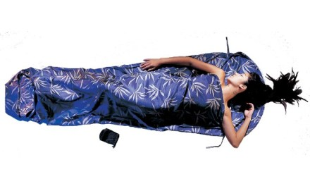 Cocoon Mummy Liner Adds Warmth and Comfort to your Sleeping Bag