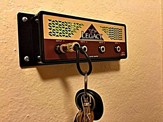 Jack Rack Lets you Hang your Keys Like a Rockstar