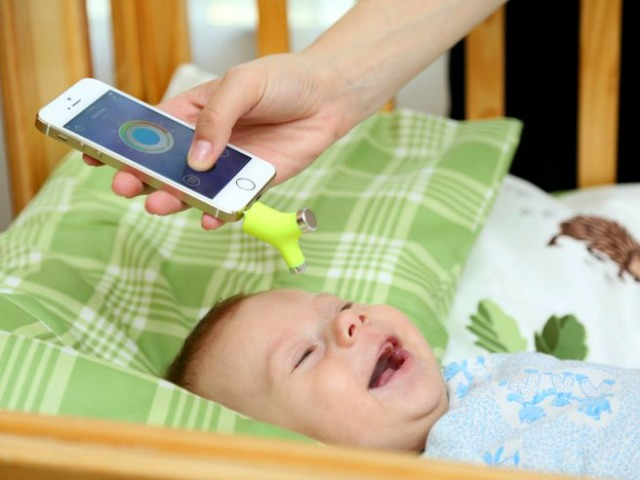 Wishbone Turns your Phone into a Baby Thermometer
