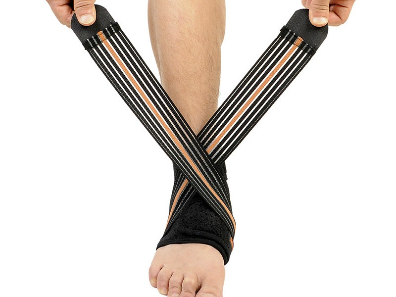 Breathable Ankle Brace Protector Provides Protection with Maximum Motion