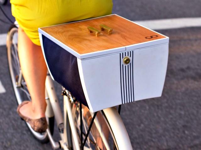 Buca Boot: Secure Storage or Open Bike Basket, you Choose