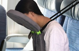 With FaceCradle you Can Finally Sleep on a Plane