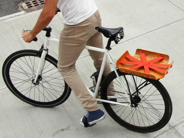 Bent Basket: Carry your Bike Cargo in Style
