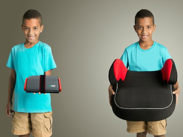 Mifold Booster Seat is 10 Times Smaller but Just as Safe