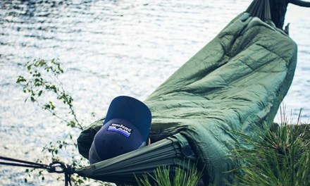 Bison Bag G2 Combines Sleeping Bag with Hammock