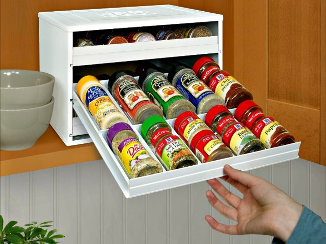SpiceStack: Organize your Spice Bottles Like a Pro