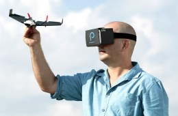 PowerUp FPV: Pilot from the Cockpit of your Paper Airplane