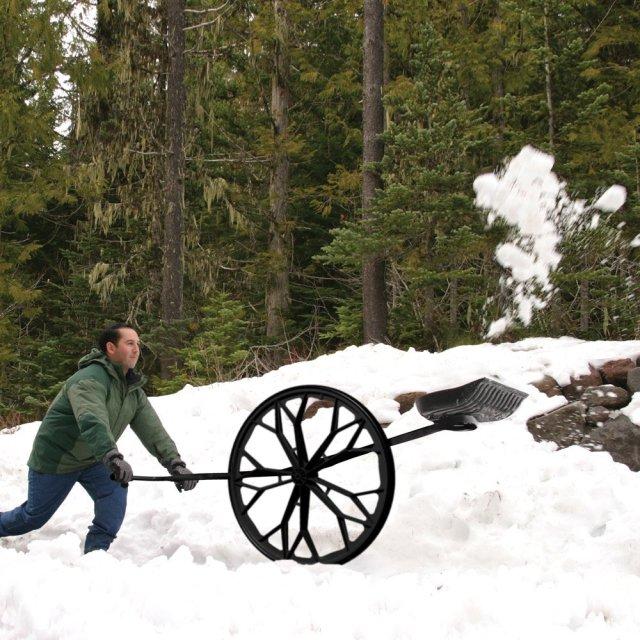Wheeled Snow Shovel