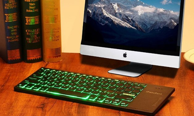 iPazzPort Wireless Keyboard has Multicolored Illumination to Suit your Mood