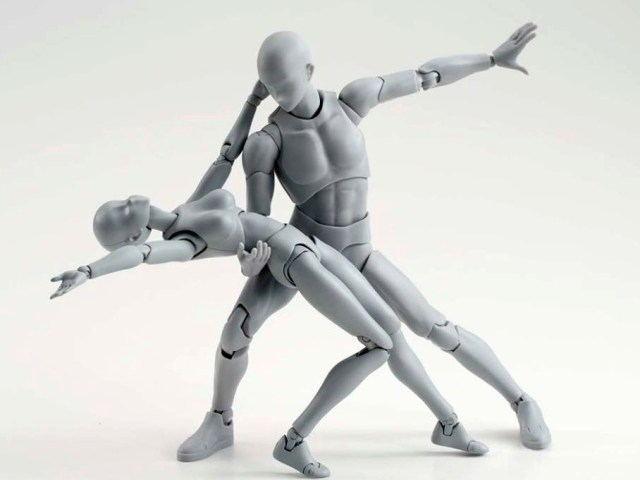 SH Figuarts Body Highly Articulated Artist's Aid Figure