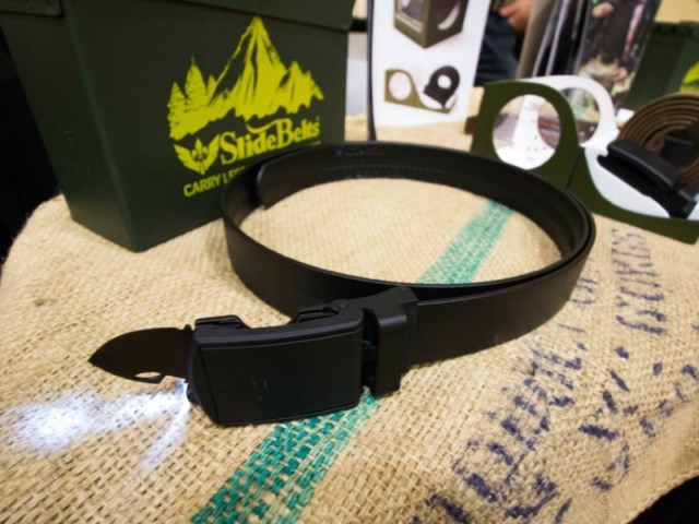 SlideBelts Survival Belt does Much more than Hold up your Pants