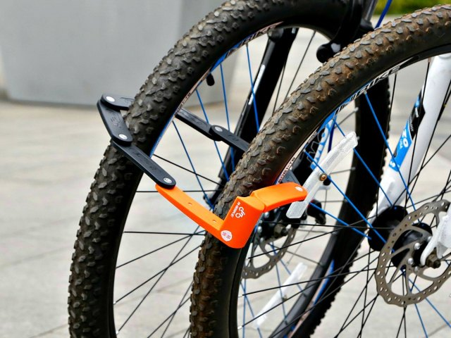 Inbike Folding Bike Lock: Maximum Versatility, Minimum Fuss