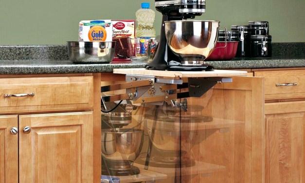 Rev-A-Shelf Appliance Lift: Unique Storage Solution for your Heavy Duty Appliances