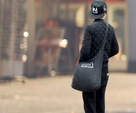 Portable Retractable Tote Bag