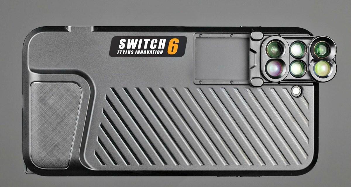 Ztylus Switch 6 Adds 6 Lenses to iPhone 7 Plus