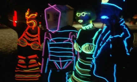 Light up the Dark with Neon EL Wire