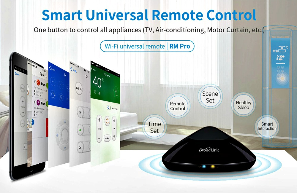 Broadlink RM Pro: Control your Home Devices with Alexa - GetdatGadget