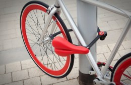 Seatylock Turns your Saddle into a Bike Lock