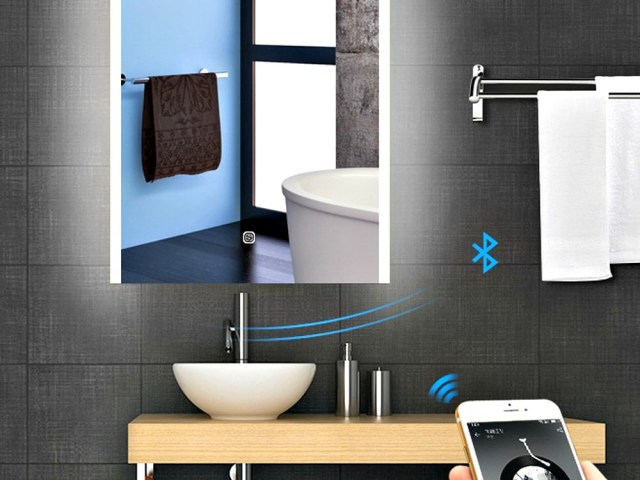 Bluetooth LED Bathroom Mirror Brightens up your Day