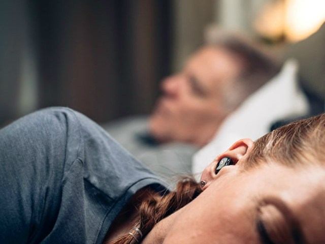Cancel Snoring with the QuietOn Sleep