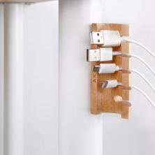Akwox Wooden Cable Organizer