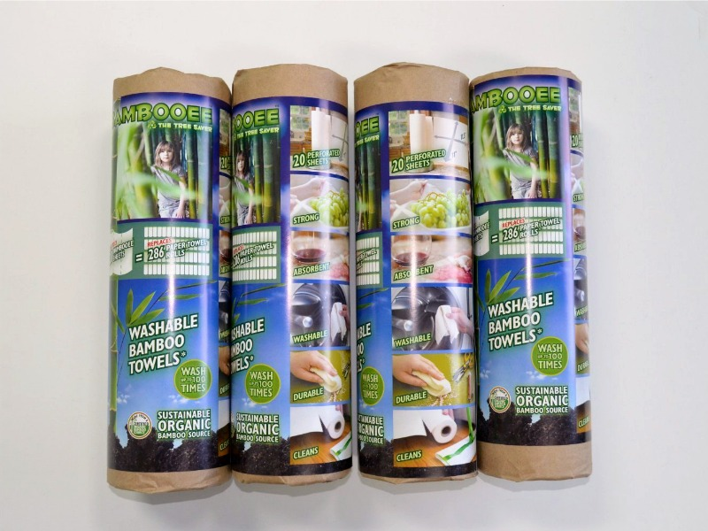 Use Bambooee Instead of Paper Towels and Save a Tree