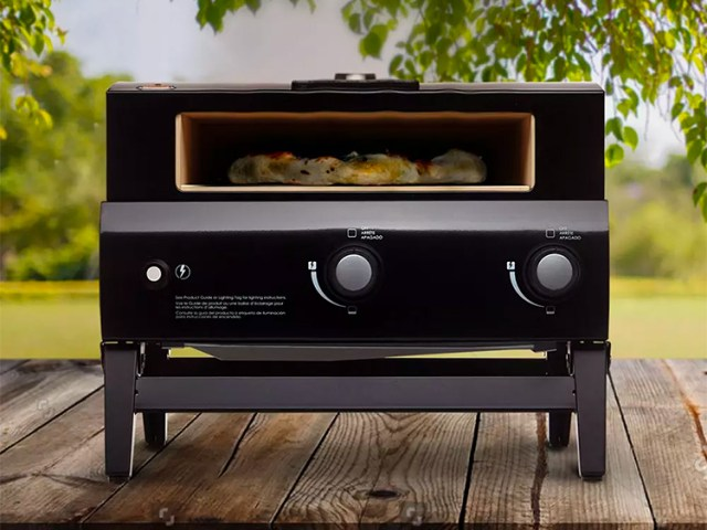 Bakerstone Portable Pizza Oven for Perfect Pies Anytime