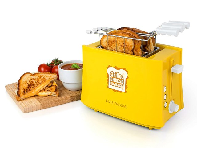 Nostalgia Grilled Cheese Toaster Makes you a Better Dad