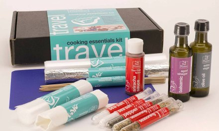 Cooking Essentials Travel Kit – Stress Free Cooking Vacations