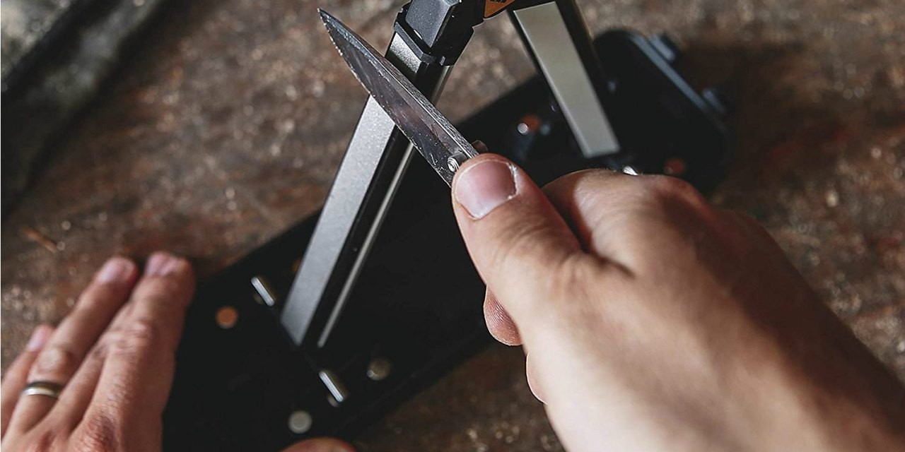 Work Sharp Angle Set Knife Sharpener Makes Sharpening Easy